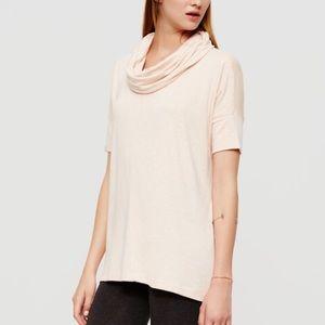 Lou & Grey Soft & Comfy Cowl Neck T-Shirt